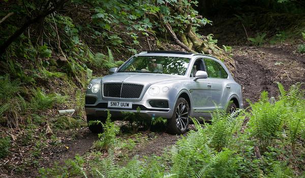 Bentley Bentayga Test Drive at Broomhall House