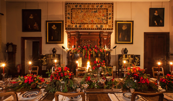 Broomhall House Christmas