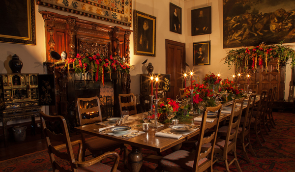 Christmas at Broomhall House