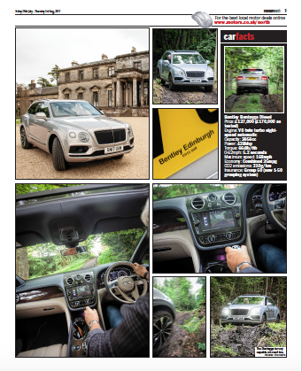 Motors North Article Broomhall Bentley Bantayga