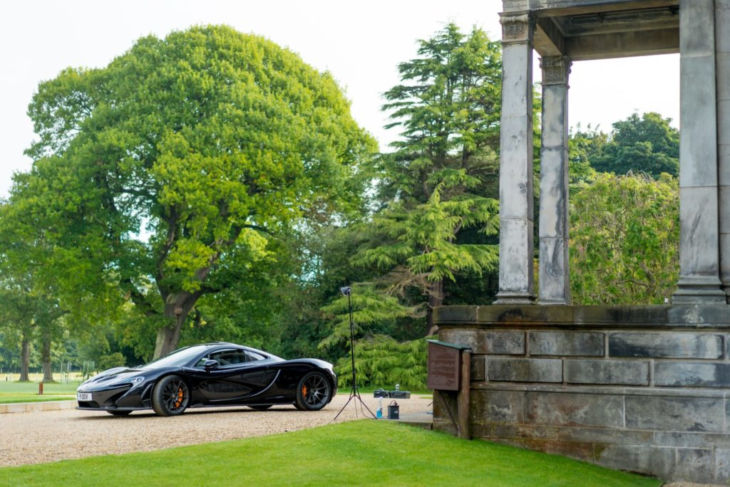 September event for McLaren Automotive at Broomhall