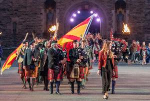 Clan Bruce, Family of Bruce, 2017 Royal Military Tattoo, Edinburgh Castle