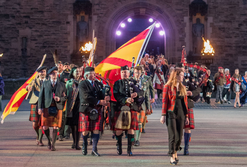 Clan Bruce, Family of Bruce, 2017 Royal Military Tattoo, Edinburgh Castle