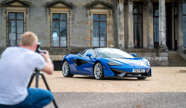 McLaren P1 at Broomhall House
