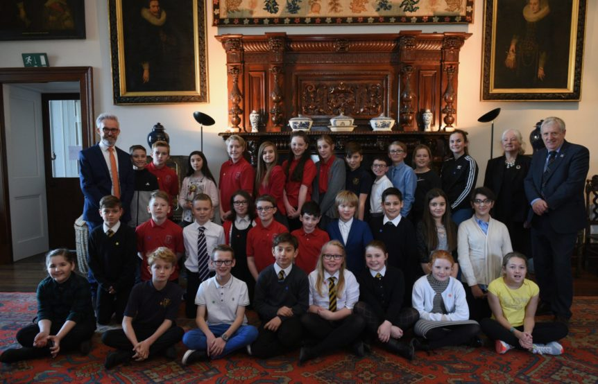 Model United Nations (MUN) St Andrew's Day Conference, Broomhall House.