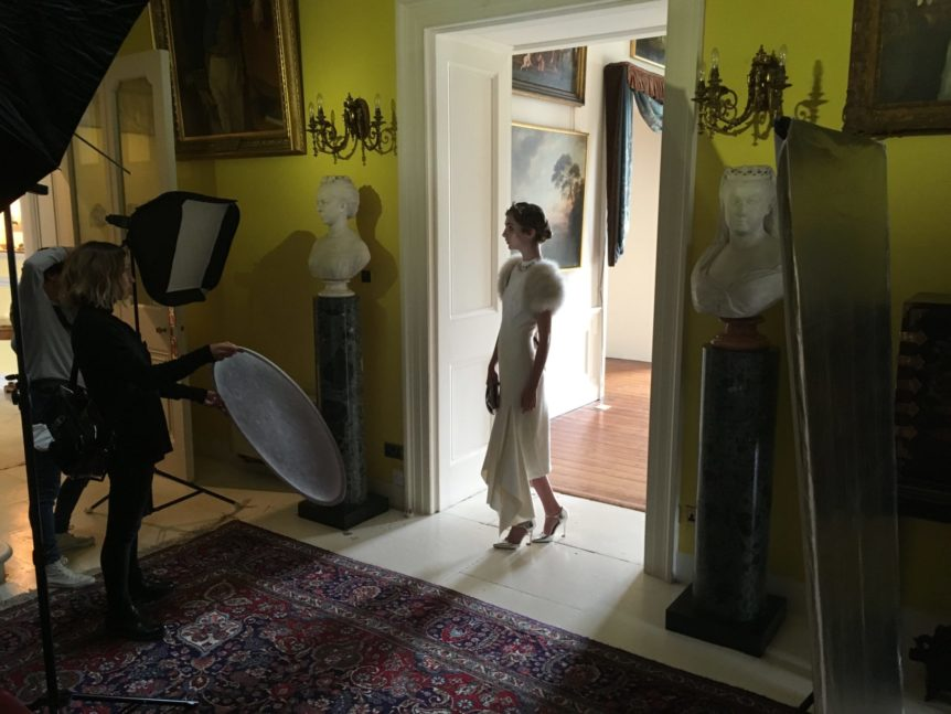 Herald Fashion Shoot at Broomhall House