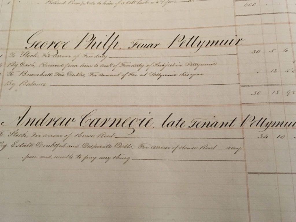 Bruce family archive, Andrew Carnegie, Carnegie Trust