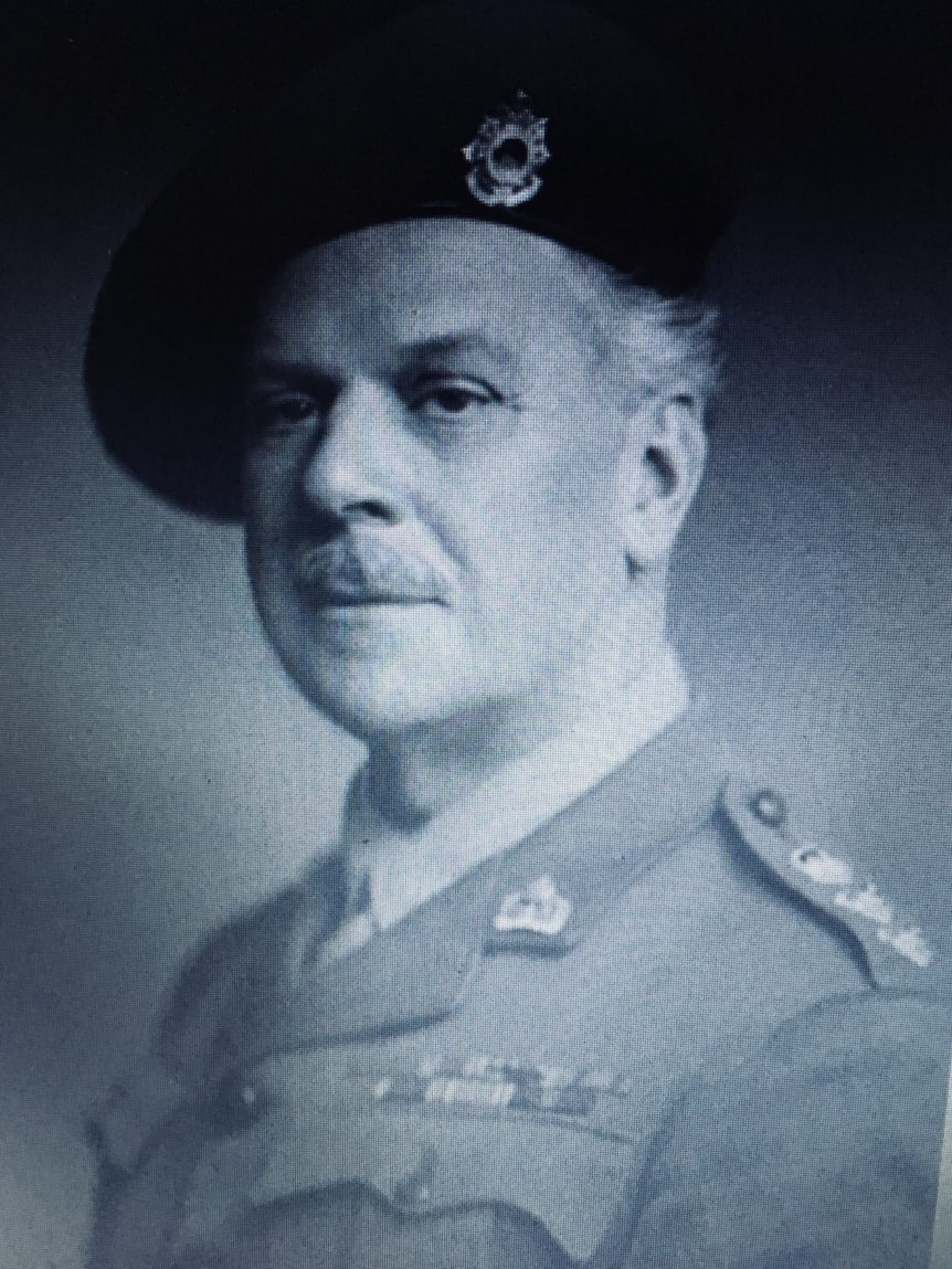 man in military uniform