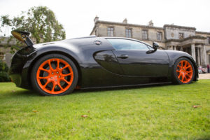 Bugatti Veyron at Broomhall House