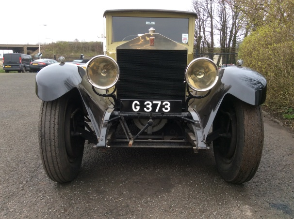Rolls-Royce 40/50HP Fixed Head Coupe by Labourdette
